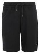 Marcelo Burlon Bermuda Shorts - Black/white