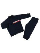 Moncler Cotton Stretch Tracksuit - BLUE