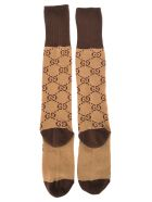 Gucci Interlocking G Socks - BEIGE