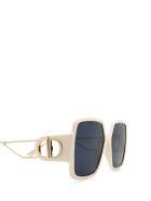 Dior Dior 30montaigne2 Ivory Gold Sunglasses - IJS/A9