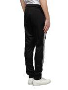 GCDS Side Stripe Track Pants - Nero bianco