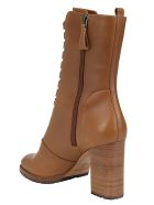 Alexandre Birman New Combot Boots - Walnut