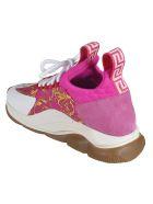 Versace Printed Sneakers - pink