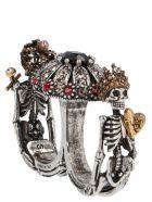 Alexander McQueen 'skulls' Ring - Multicolor