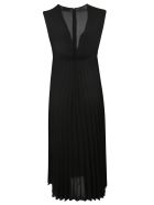 RED Valentino Double Georgette Dress - Black