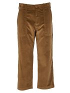 Jejia Brown Velvet Trousers - Brown