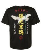 Y-3 Back Print T-shirt - black