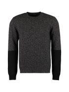 Prada Wool And Cashmere Sweater - grey