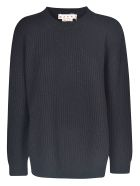 Marni Oversize Ribbed Sweater - Black