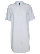 Ben Taverniti Unravel Project Striped Long Shirt - LIGHT BLUE