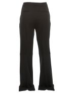 Maison Margiela Pants Flared Canvas Poly - Black