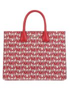 Miu Miu Shopping Bag - Corda/rosso