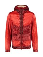 C.P. Company Kan-d Hooded Techno Jacket - red