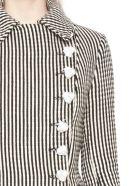 Marques'Almeida 'contour' Coat - Black&White