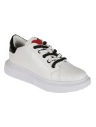 Love Moschino Rear Logo Sneakers - White
