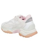 Ash Ridged Sole Sneakers - Bianco/rosa