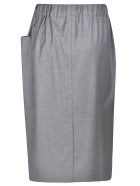 Sofie d'Hoore Drawstring Skirt - Grey