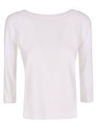 Roberto Collina Fitted Sweater - White