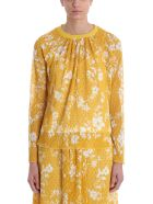 See by Chloé Lace Layered Sweater - yellow