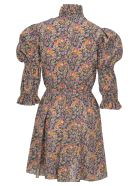 Philosophy di Lorenzo Serafini Philosophy Floral Print Liberty Dress - BLACK + FLOWER