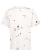 Golden Goose Golden T-shirt - White/all over sailor