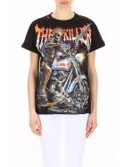 Forte Couture Skeleton Print T-shirt - BLACK/MULTI (Black)