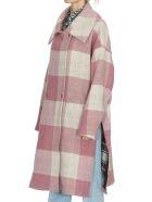 Golden Goose Gwen Check Coat - Pink