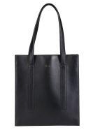 Paul Smith Multicolor Detailed Tote Bag - Black