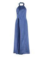 Jacquemus Marco Asymmetric Dress - blue