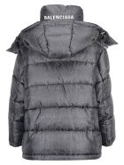 Balenciaga Puffer Down Jacket - Black