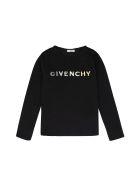 Givenchy Logo Cotton T-shirt - black