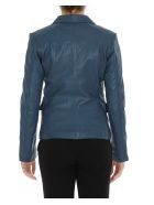 S.W.O.R.D 6.6.44 Leather Jacket - Blue