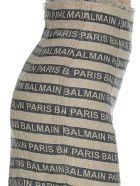 Balmain Skirt - Black beige