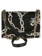Furla Chain Shoulder Bag - black