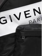 Givenchy Logo Print Backpack - Nero bianco