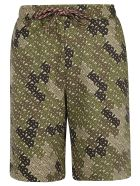 Burberry Camile Shorts - Khaki Green