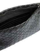 Bottega Veneta Large Clutch - NERO