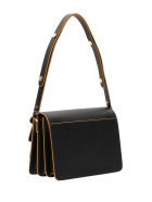 Marni Contrasting Piping Trunk Shoulder Bag - Nero