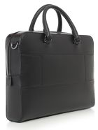 Michael Kors Medium Ft Zip Briefcase - Black