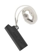AMBUSH Lighter Holder Necklace - BLACK