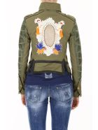 Mr & Mrs Italy Jacket With Embroidery - ARMY|Verde