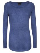 Avant Toi Knit Slim Sweater - Blue