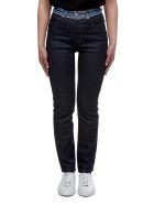 A.P.C. Patchwork Waist Jeans - Blue