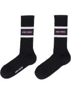 Ami Alexandre Mattiussi Logo Cotton Blend Socks - black