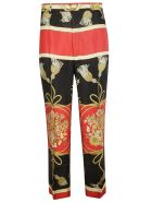Gucci Flower Tassel Trousers - Red