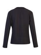 Issey Miyake Ribbed Knit Blazer - Black