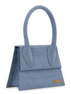 Jacquemus Le Grand Chiquito Leather Handbag - Blue