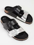Rick Owens Buckled Sliders - A