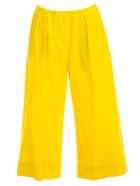 Hache Flared Trousers - Yellow