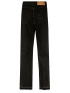 Golden Goose Kim Bottom Raw Edge Jeans - Black